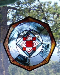1st stained glass